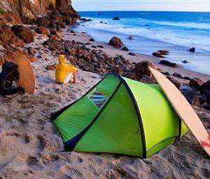 Dicas para acampar na praia