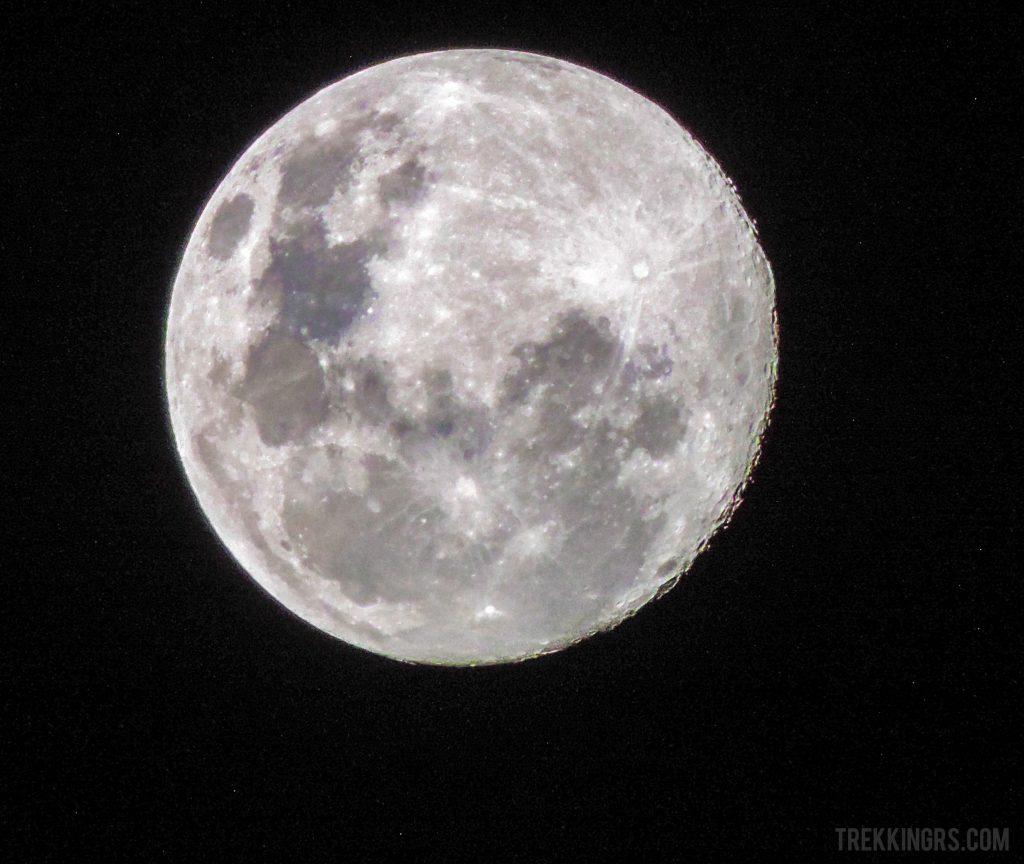 Céu estrelado no Morro do Tigre