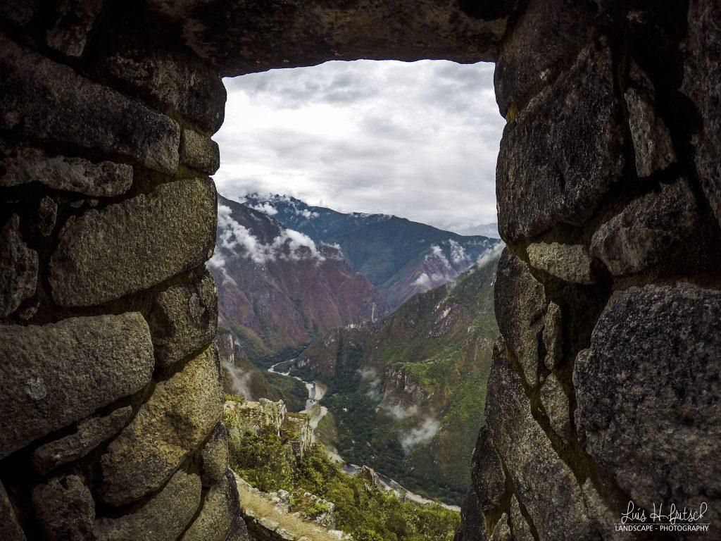 Construções Andinas de Waynapicchu