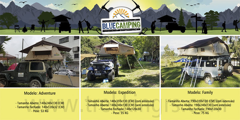Blue Camping