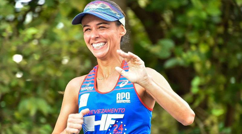 A paixão por ultramaratona Andréa Vidal