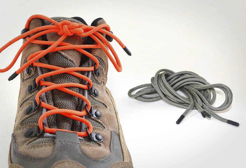 amarrar a bota com paracord
