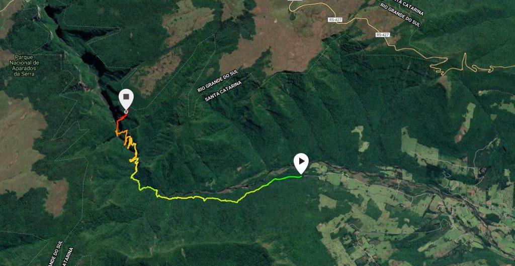 Mapa Rio do Boi